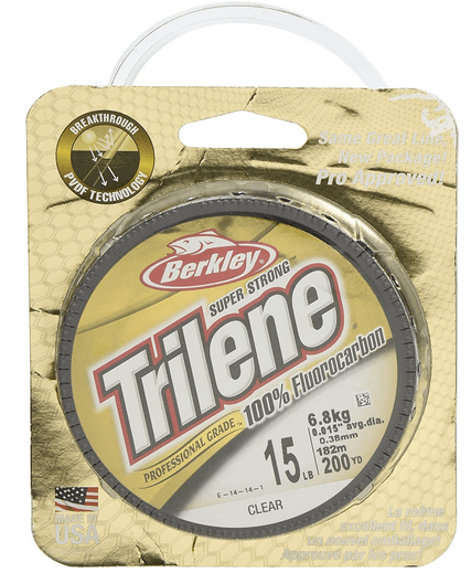 Trilene 100% Fluorocarbon Fishing Line