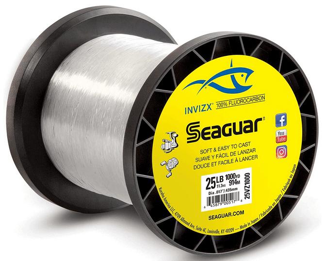 Seaguar Invizx 100% Fluorocarbon 1000 Yard Fishing Line