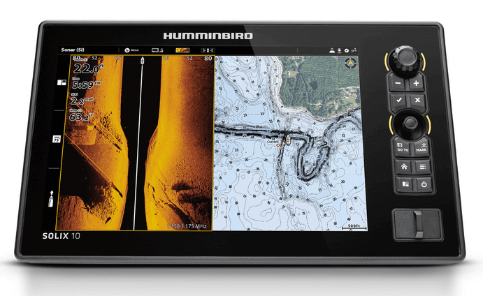 read a humminbird fish finder