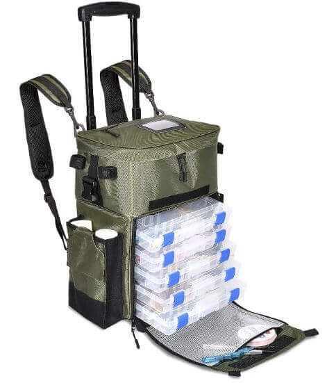 The X-Large Recon Rolling Fishing Backpack