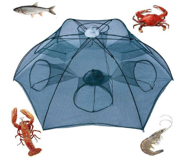 Noa Store New Fishing Bait Foldable Net Trap
